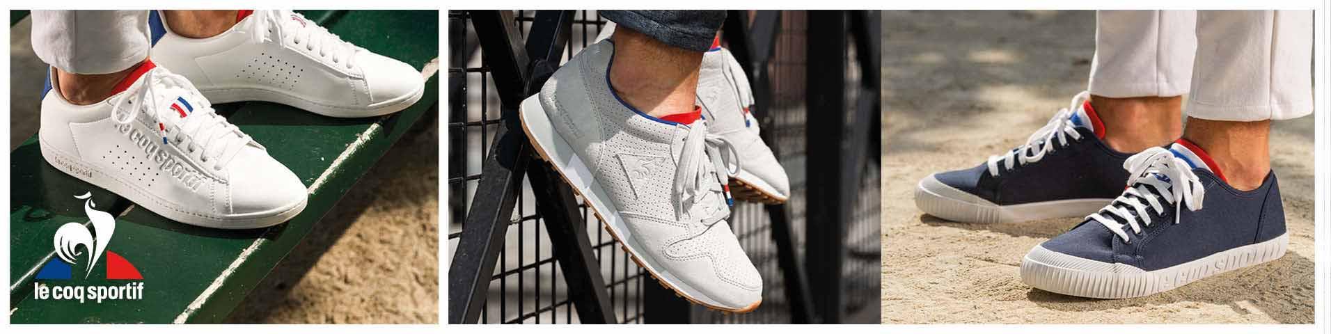 Auf ganz leisen Sohlen: le coq sportif Sneaker für Herren