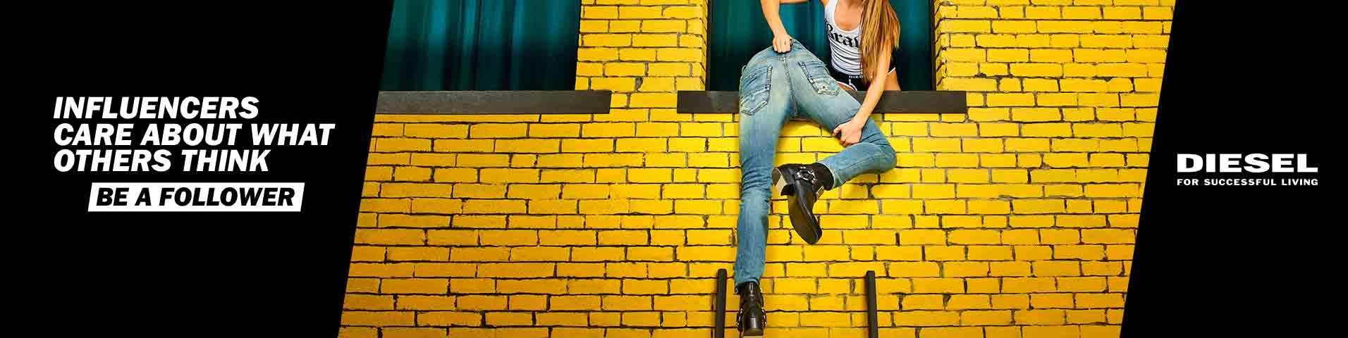 Les coupes diesel jeans homme
