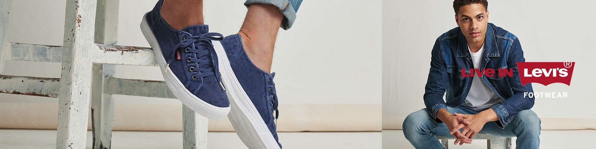 Chaussures homme Levi's® vert | Large choix en ligne sur Zalando