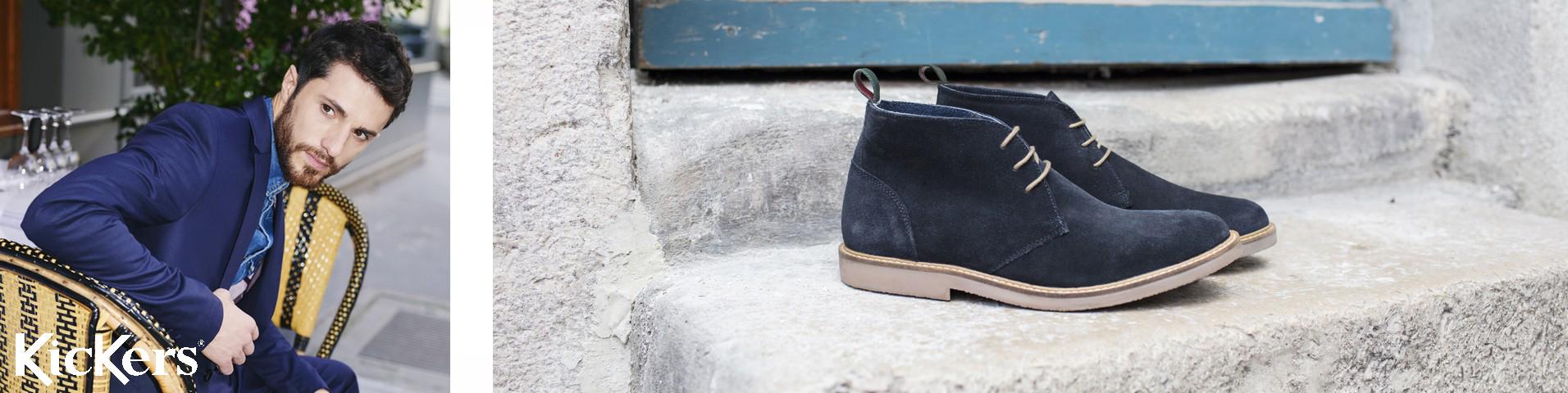 Kickers Herresko | Køb dine nye sko til herrer online hos