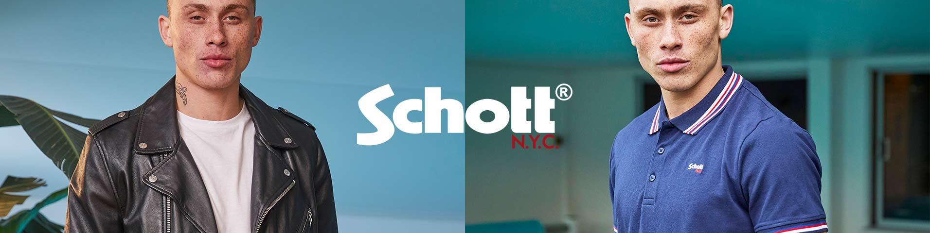 Abbigliamento uomo Schott Made in USA | Scoprilo su Zalando