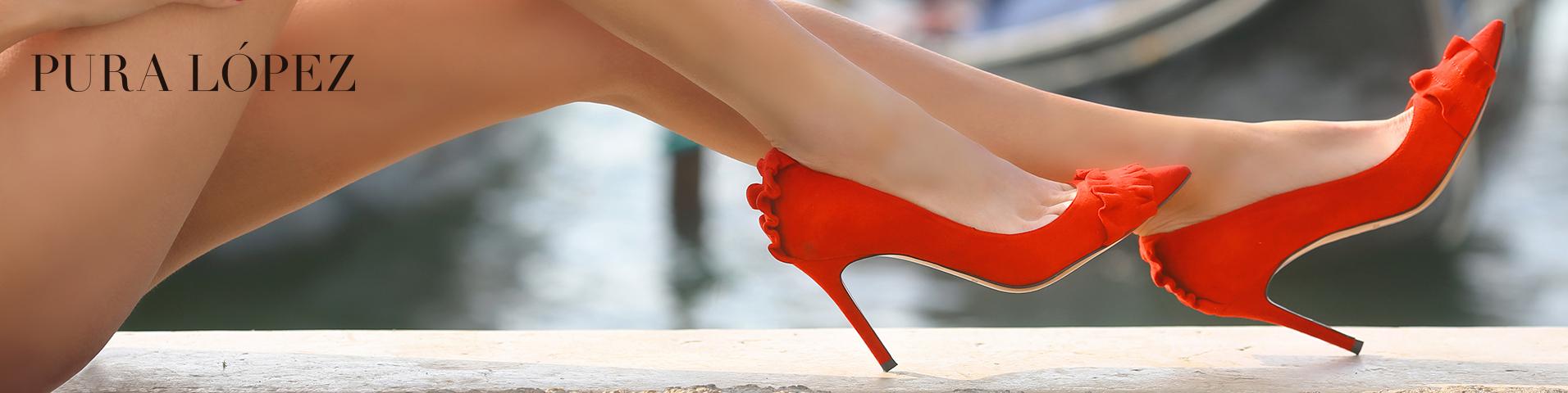 0ef13369452 Zapatos de salón de Pura Lopez