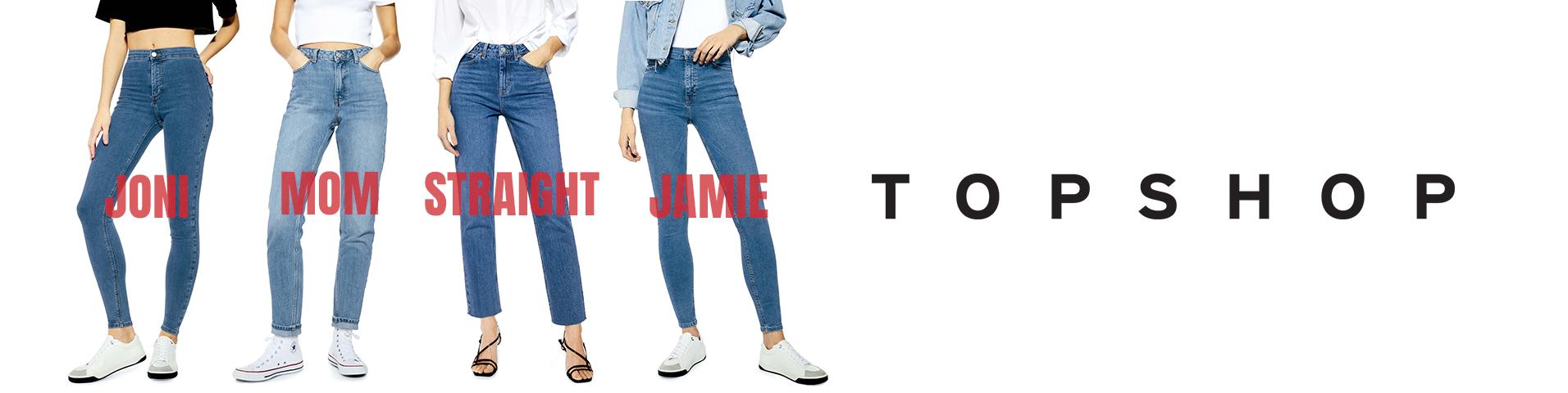 Pantalones vaqueros azules Topshop de mujer | Comprar jeans