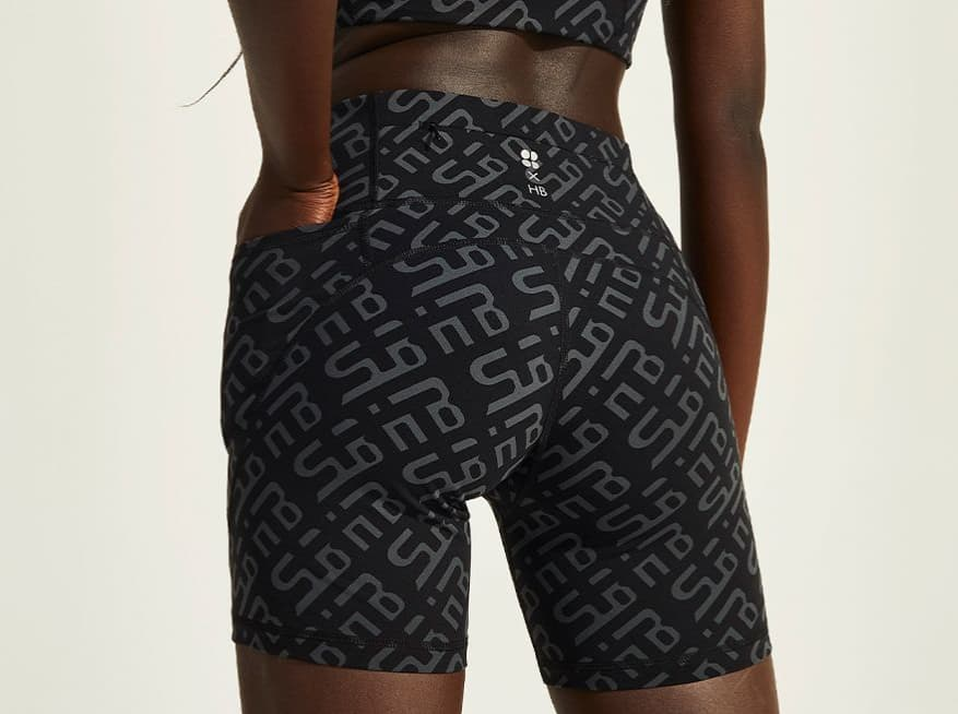 "HB Power 6"" Biker Shorts"