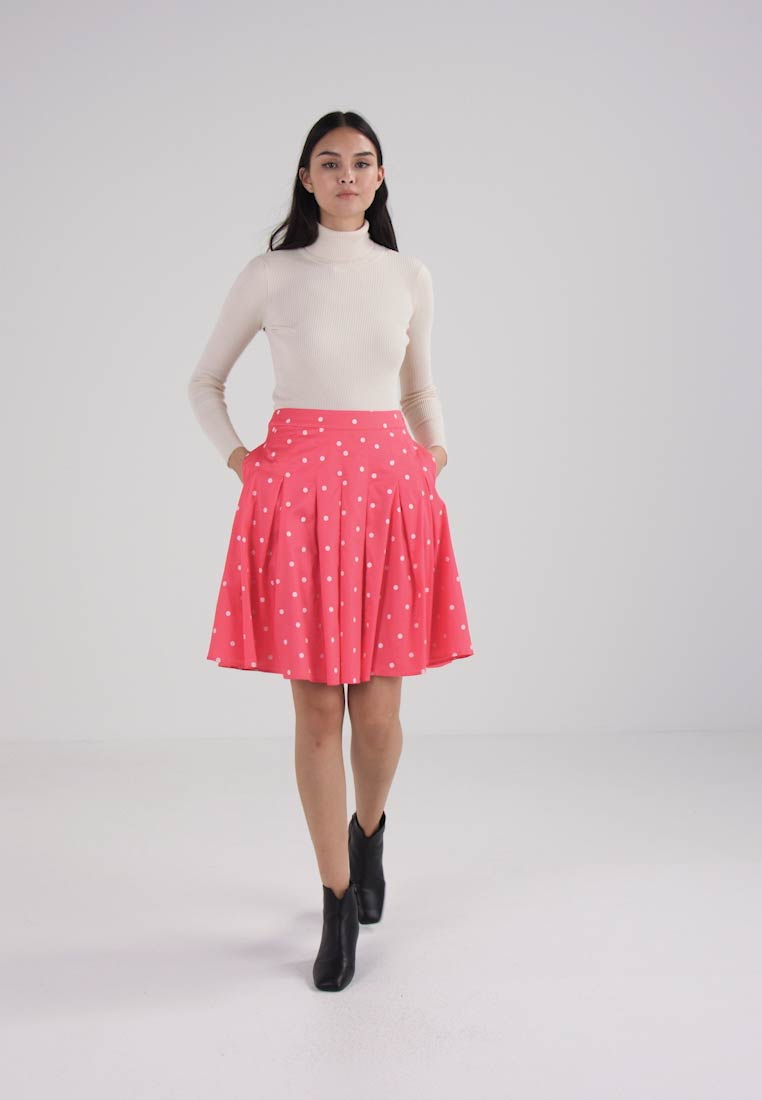 Tom Joule WOVEN PRINTED SKIRT - A-line skjørt - red sky spot