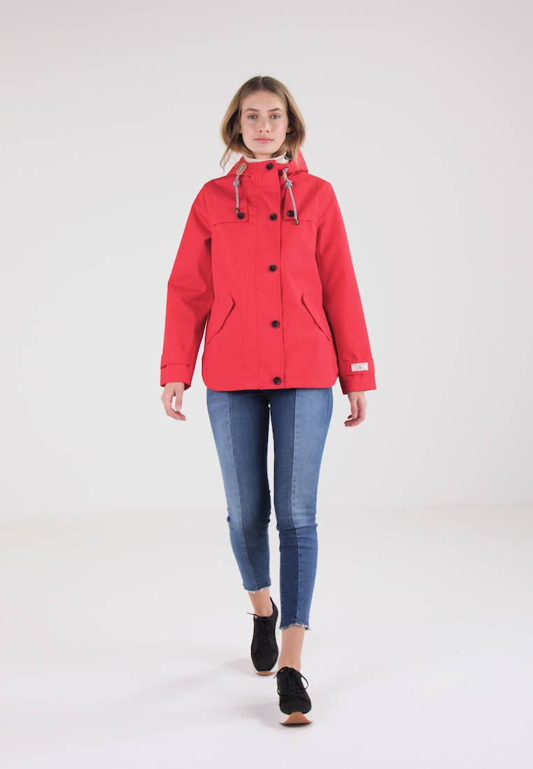 Tom Joule - WATERPROOF COAT - Regenjacke / wasserabweisende Jacke - red