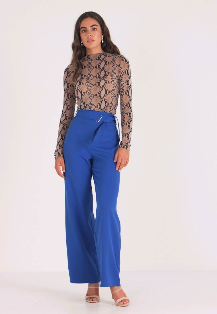 4th & Reckless - GALAXY TROUSER - Kalhoty - blue