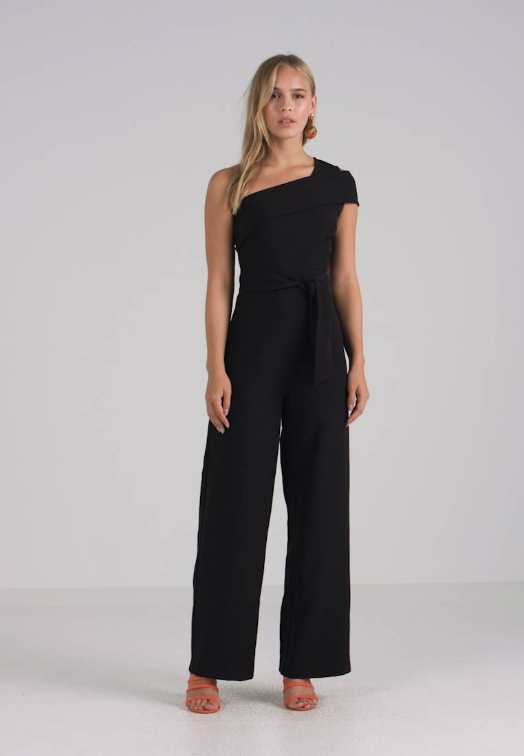 4th & Reckless Petite - MARKLE ASYMMETRIC - Overall / Jumpsuit /Buksedragter - black