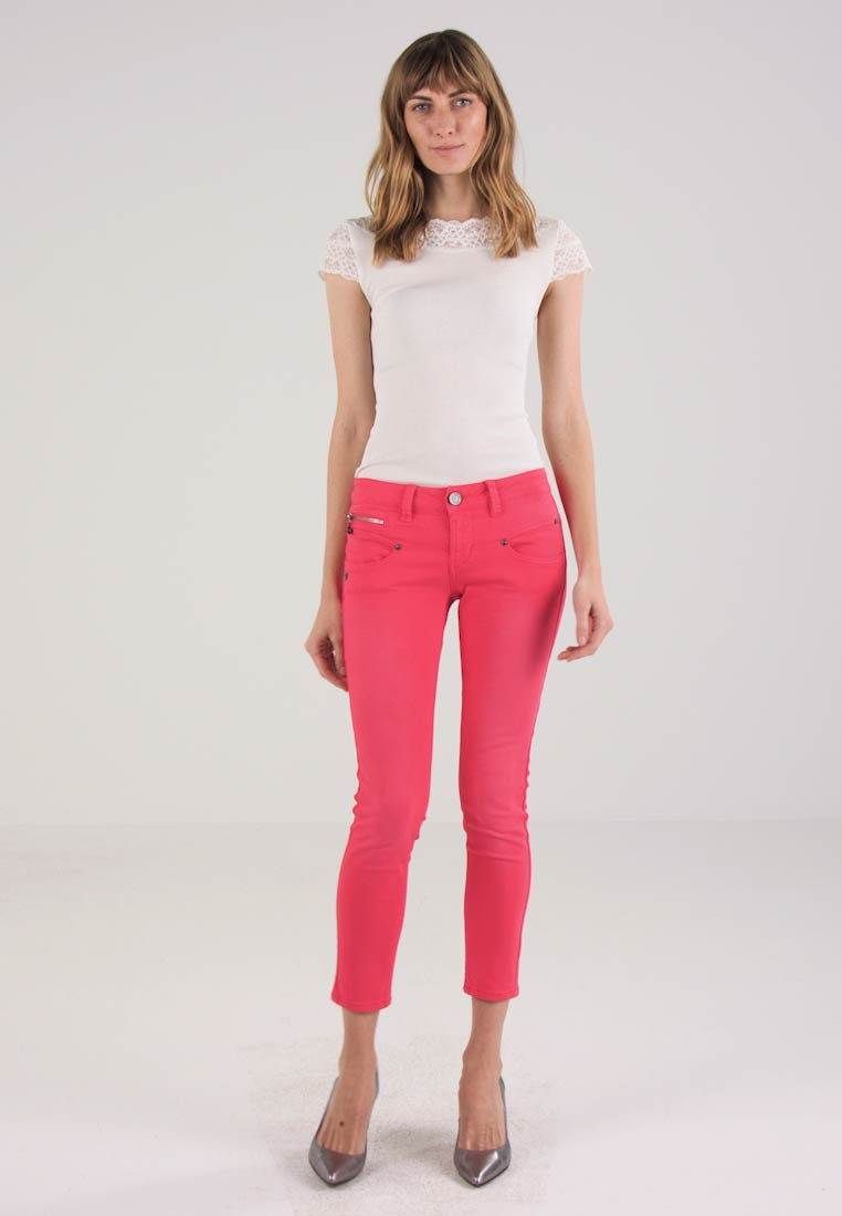 Freeman T. Porter ALEXA CROPPED - Jeans Skinny Fit - virtual pink