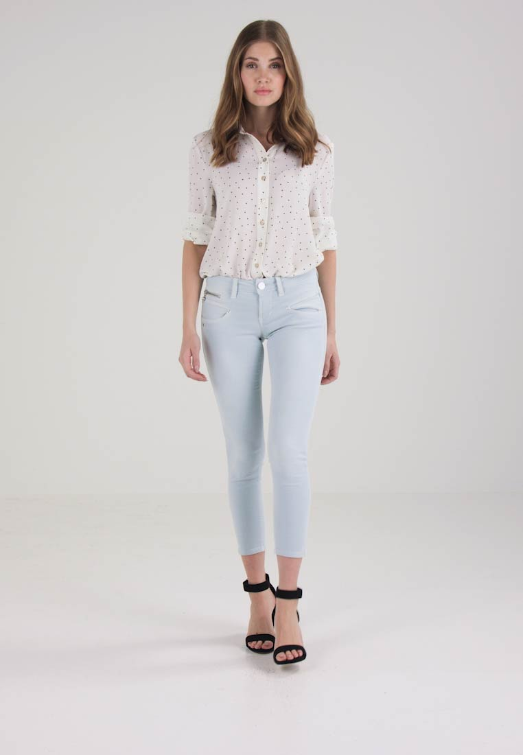 ALEXA CROPPED - Jeans Skinny Fit baby blue