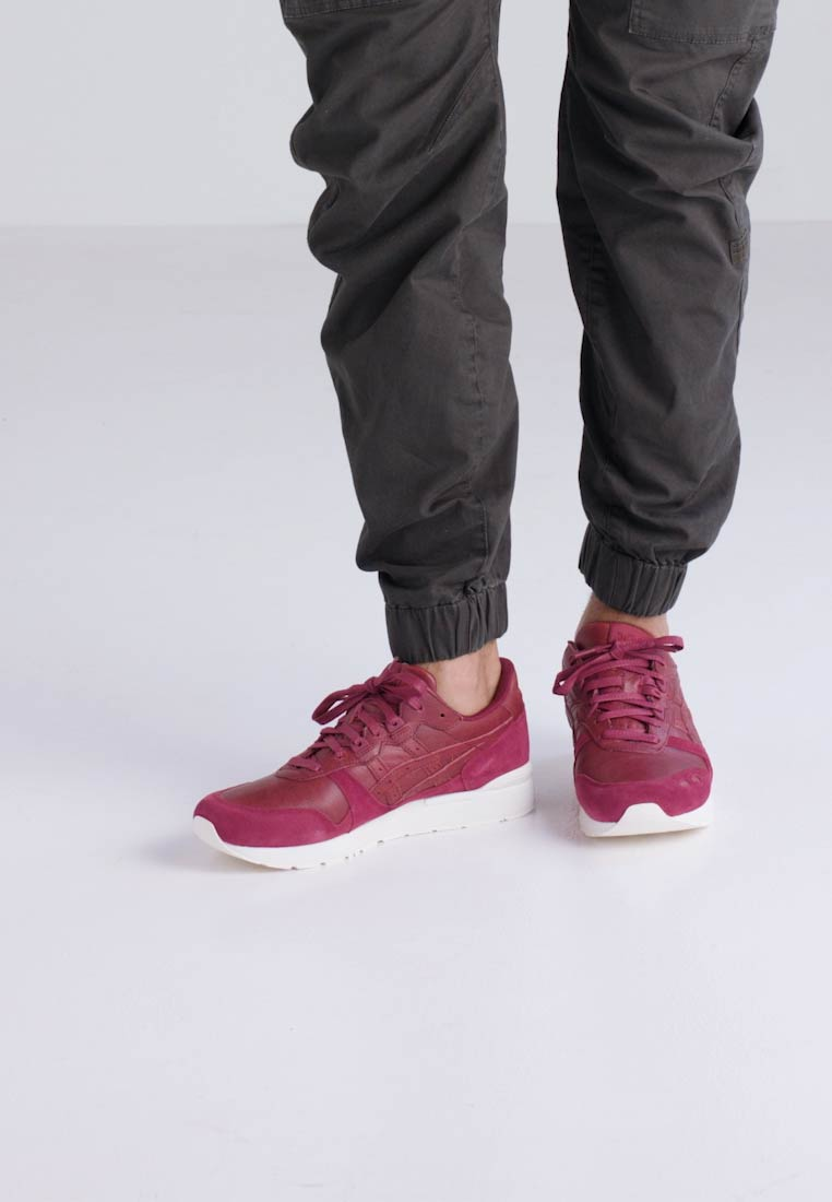 Asics Tiger GEL-LYTE - Baskets basses - burgundy