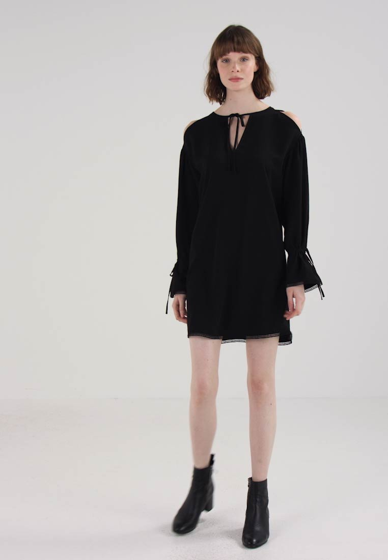 AllSaints ASTER DRESS - Robe dété - black