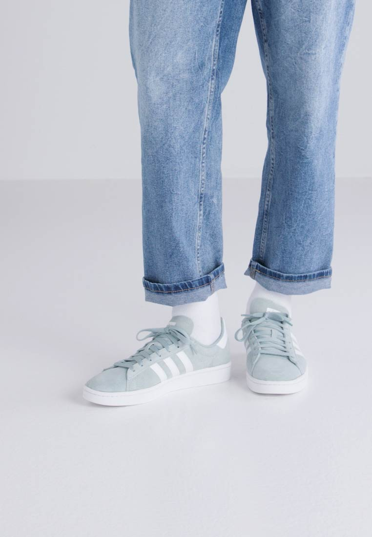 adidas Originals CAMPUS - Zapatillas tactile green/white/crystal white