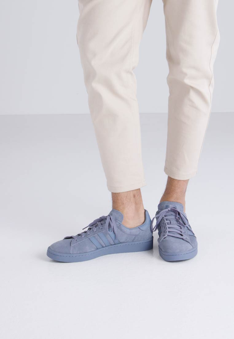 adidas Originals CAMPUS - Joggesko raw steel/footwear white