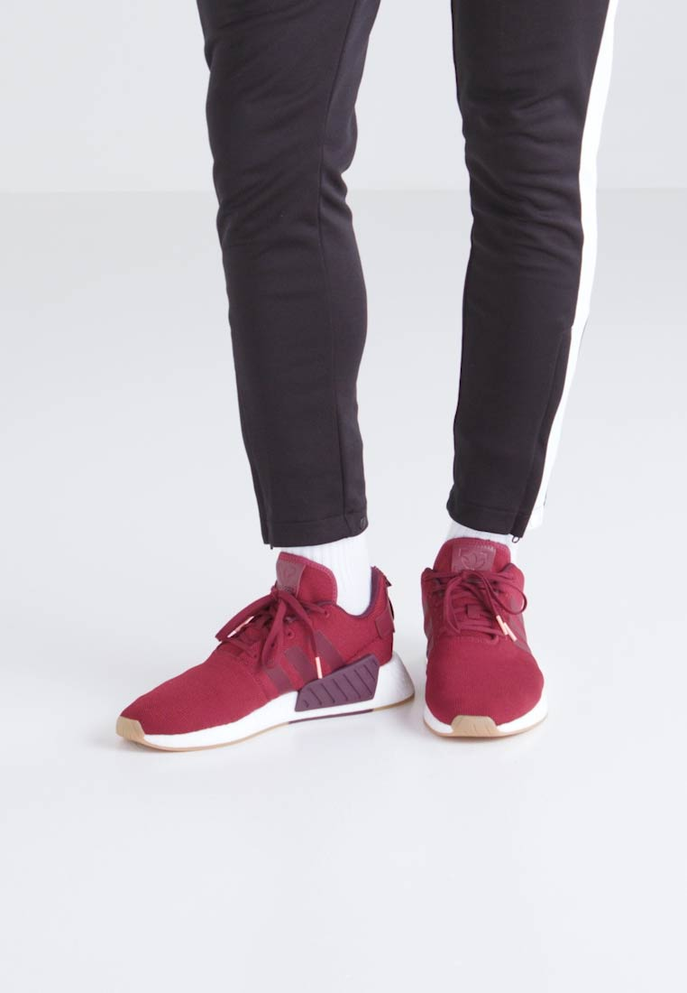 adidas Originals NMD_R2 - Baskets basses - burgundy/maroon