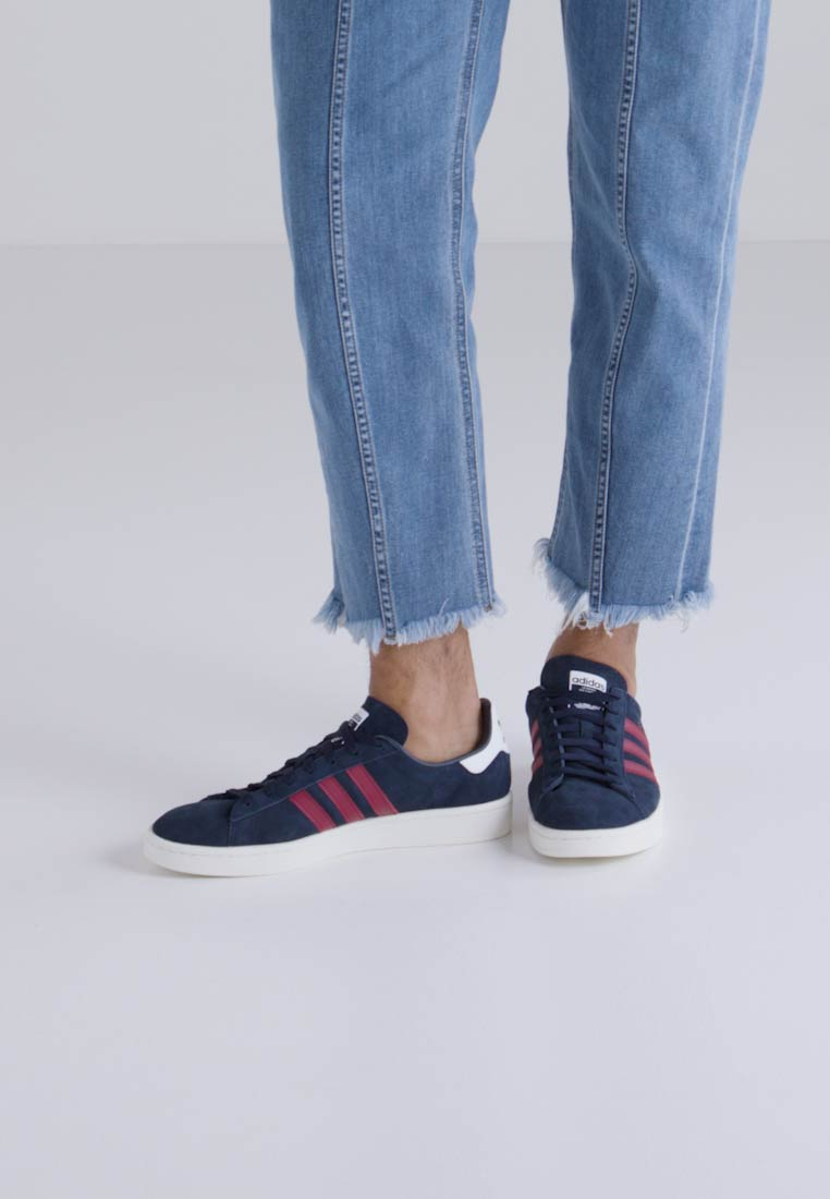 adidas Originals CAMPUS - Joggesko - collegiate navy/collegiate burgundy/offwhite