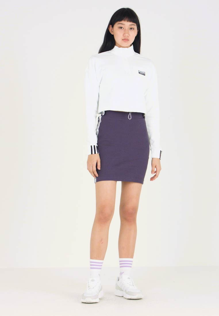 adidas Originals - TAPE SKIRT - Minigonna - trace purple