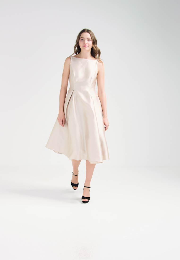 Adrianna Papell Robe de cocktail - champagne