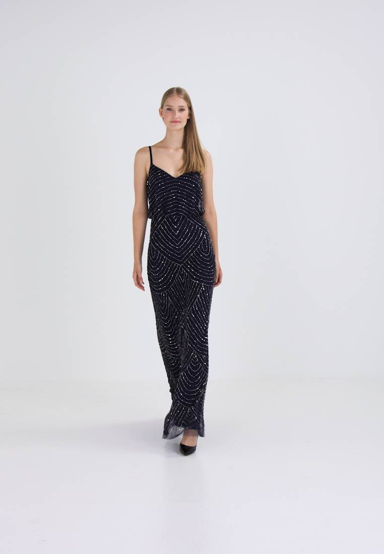 Adrianna Papell Robe de cocktail - navy