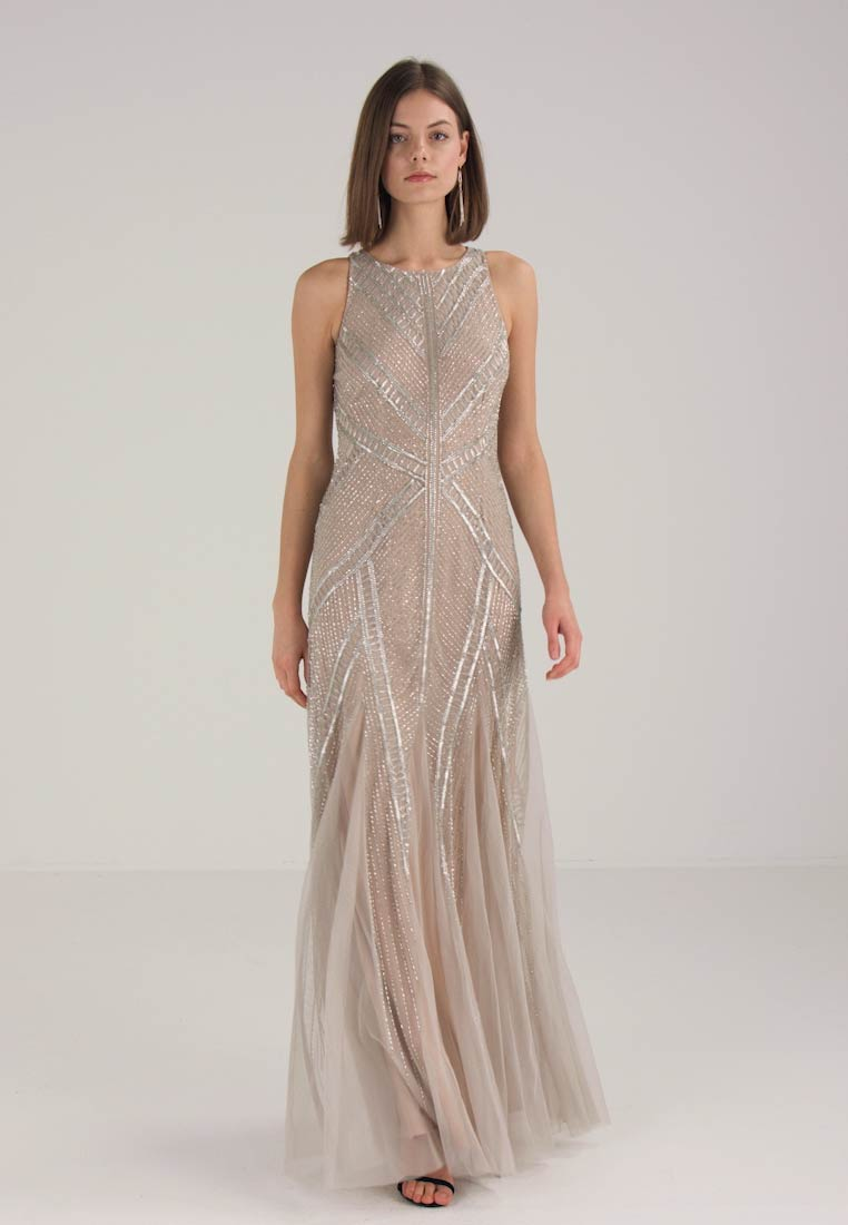 Wear nude Silver Occasion Papell Adrianna Hxw74gq7