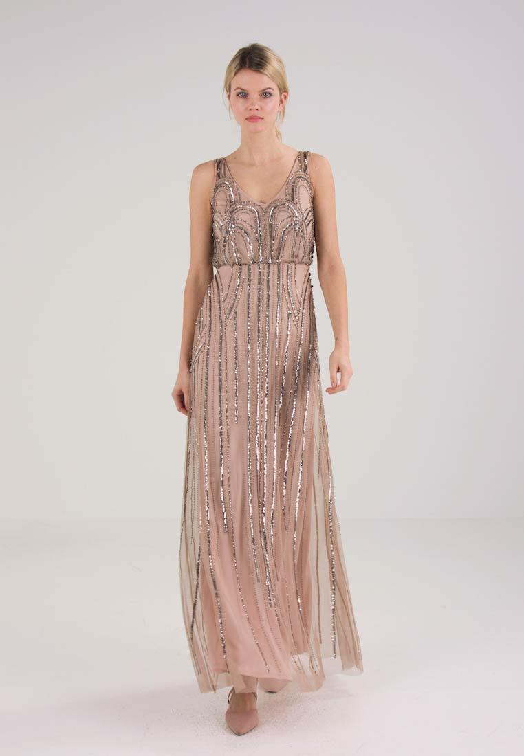Adrianna Papell Ballkjole taupe/pink