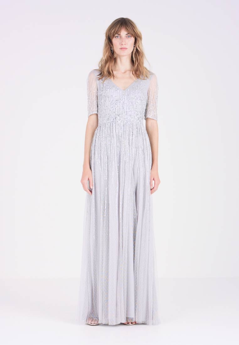 Adrianna Papell - Robe de cocktail - bridal silver