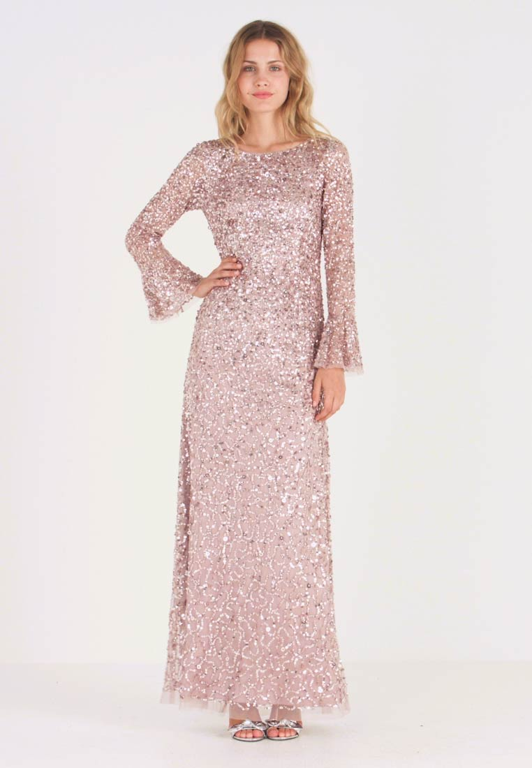 Adrianna Papell - BEADED LONG DRESS - Occasion wear - cameo
