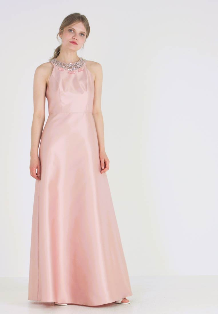 Adrianna Papell - HALTER GOWN - Occasion wear - blush