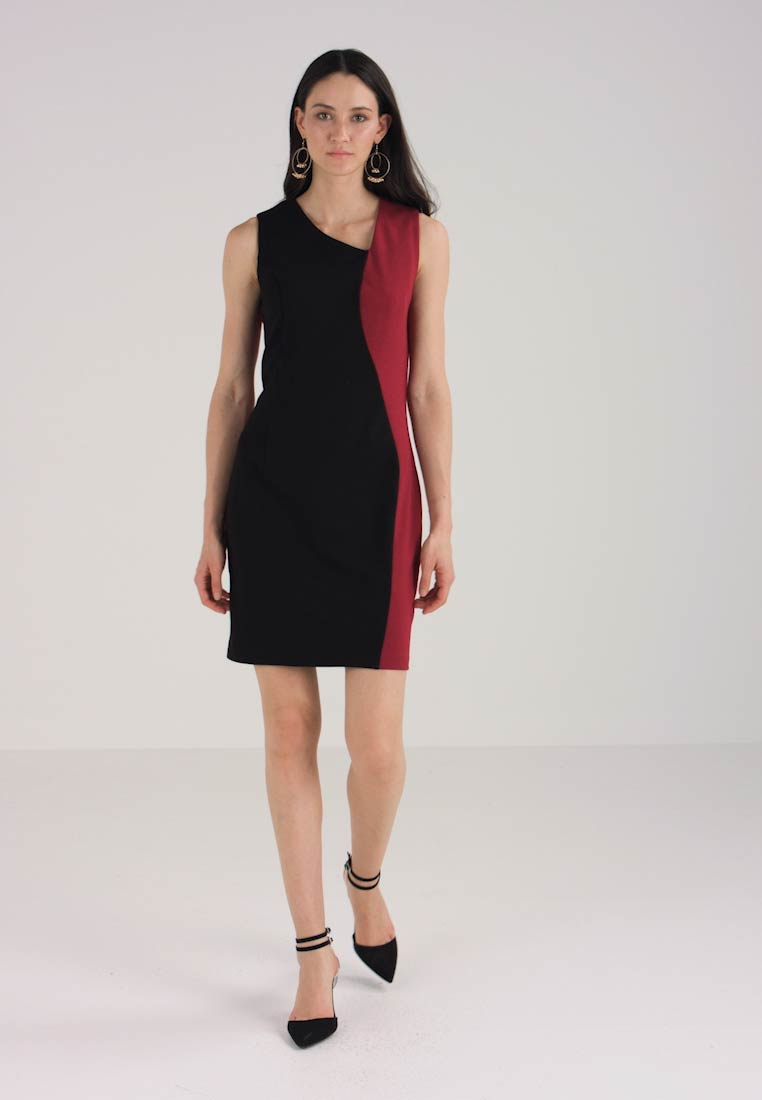red Nice Dress Anna Field Shift Black wXRZwq