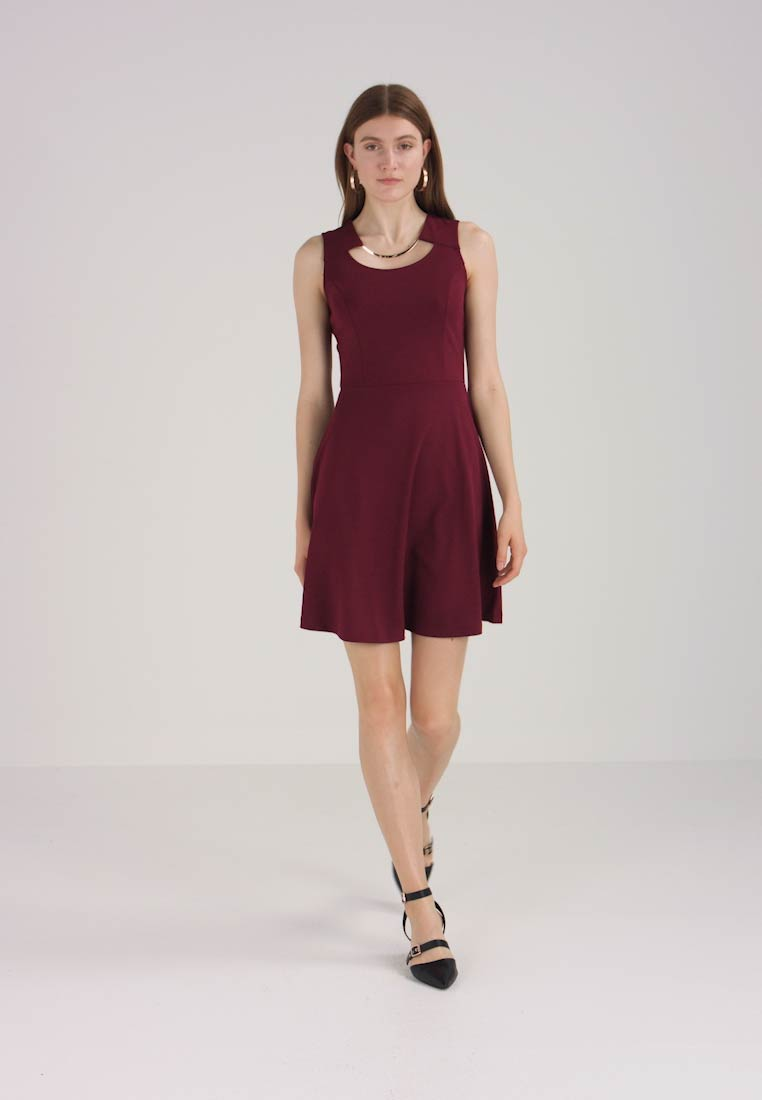 Anna Dress Bordeaux Jersey Field Super qZn7W0W
