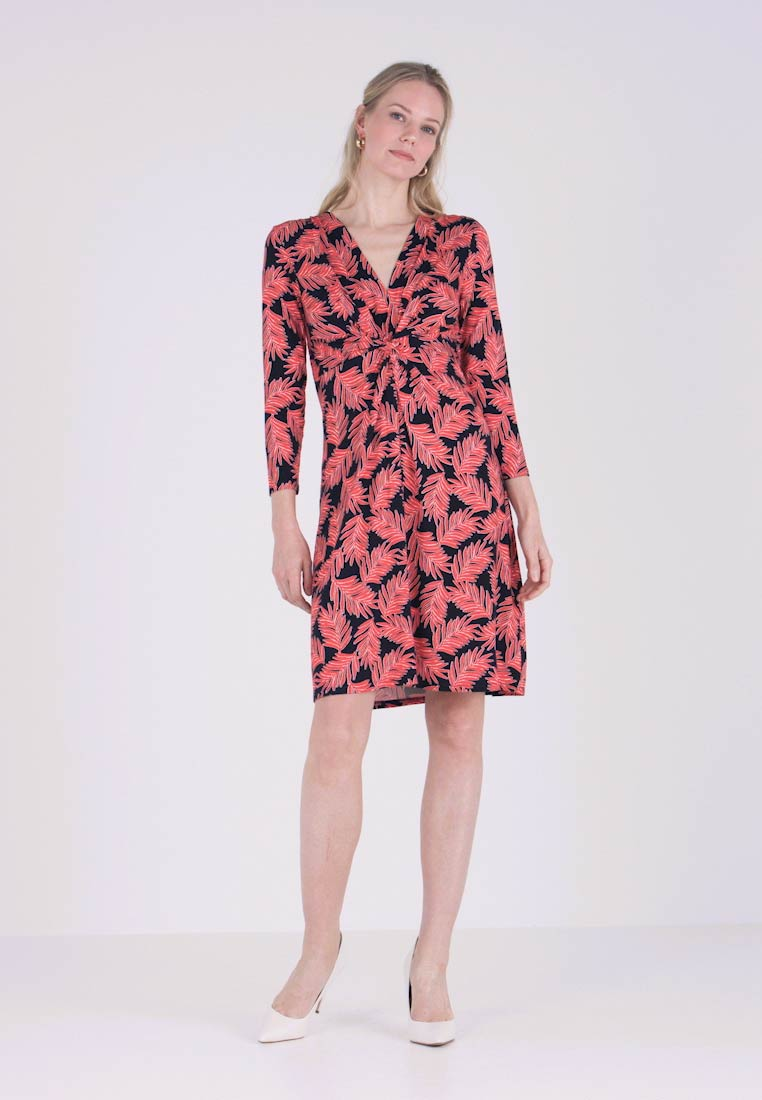 Anna Field - Robe en jersey - black/white/red
