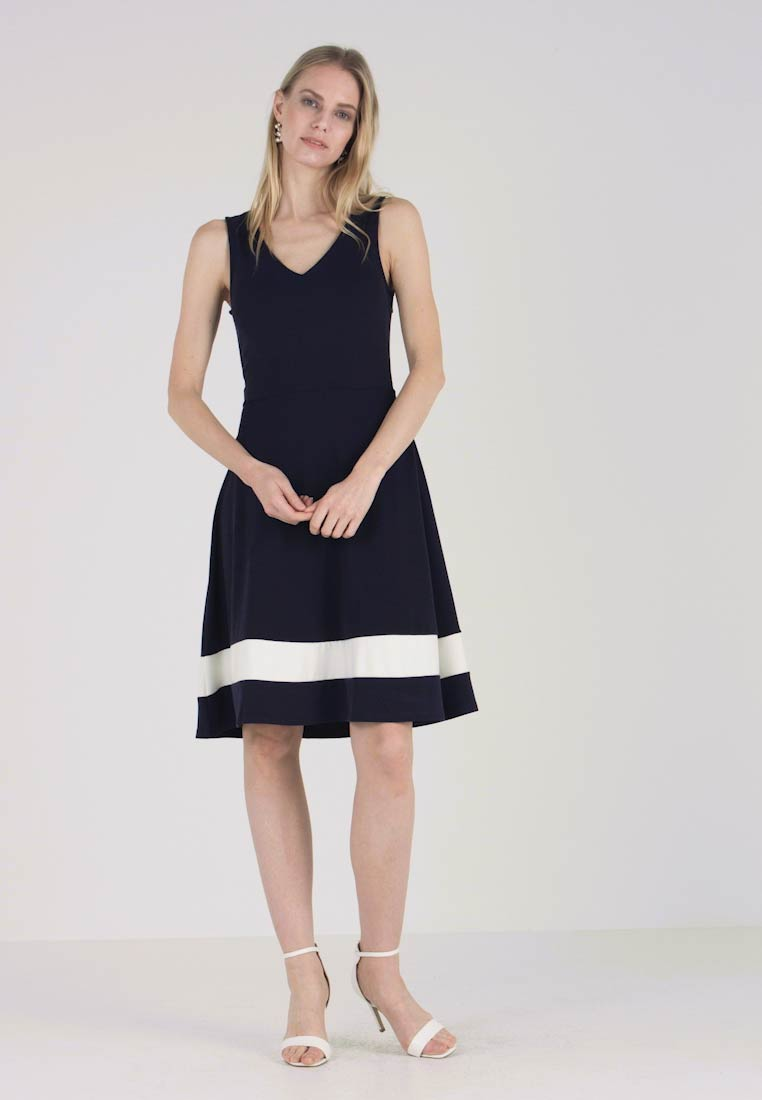 Anna Field - Jersey dress - maritime blue/cloudancer