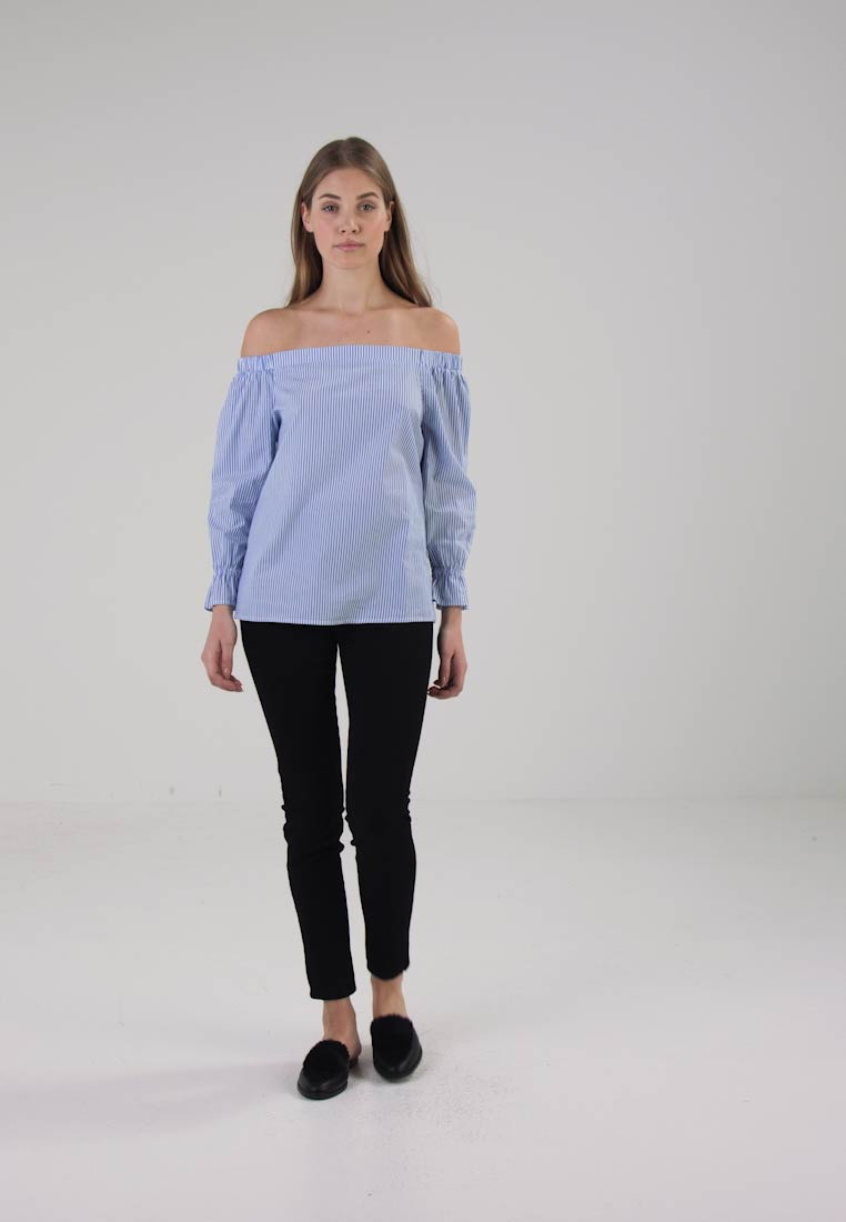Anna Field Bluser - off off-white/light blue
