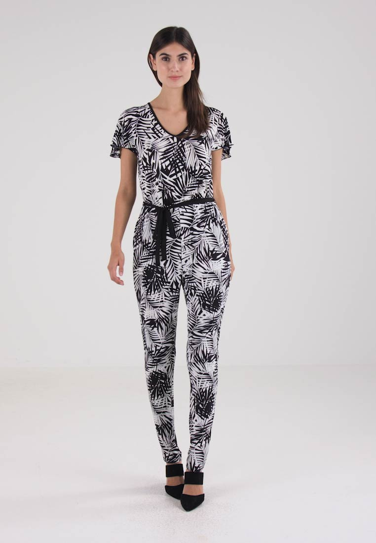 Anna Field Jumpsuit - black/off