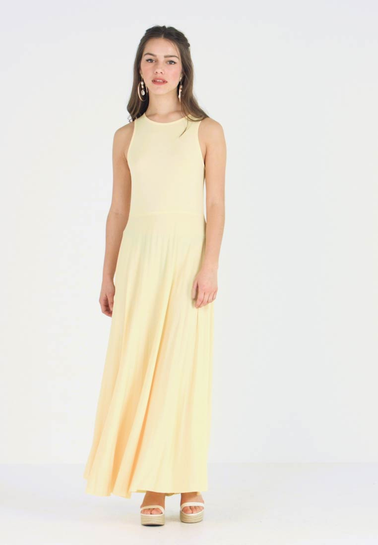 Anna Field Petite - Vestido largo - light yellow