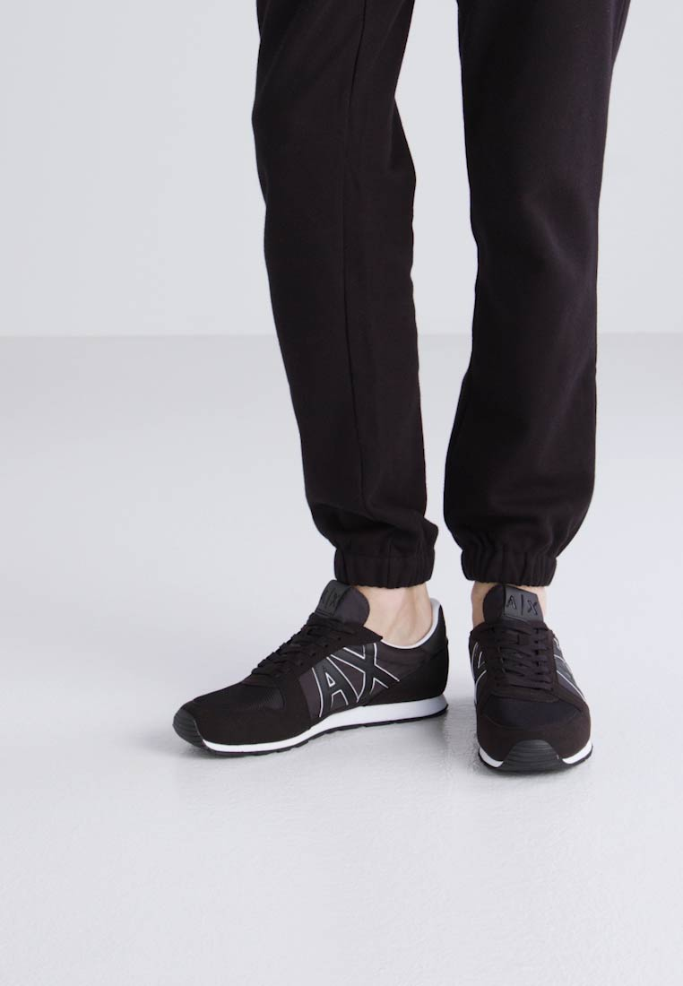 Armani Exchange RETRO RUNNER - Zapatillas nero