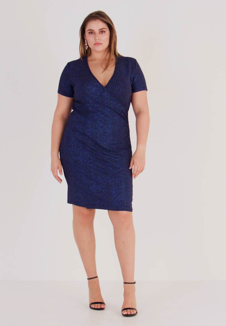 Anna Field Curvy - Shift dress - dark blue
