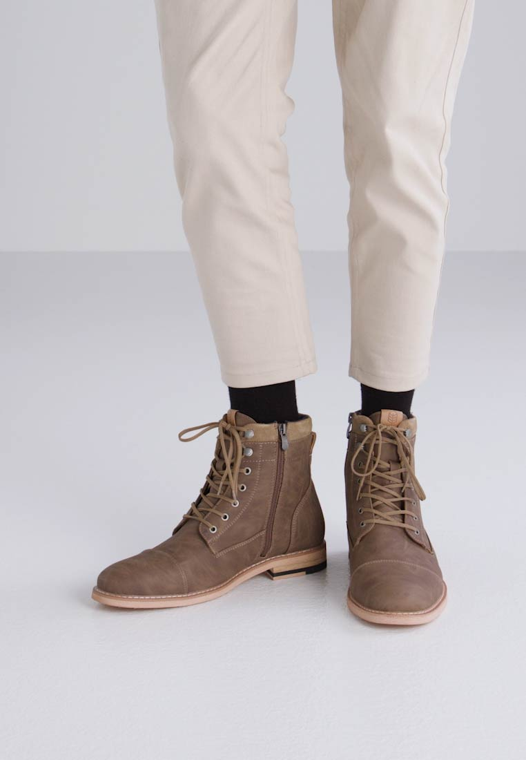 Sale Shop Buy Cheap Exclusive Call It Spring Rosciolo Lace Up Boots In Brown - Brown Call It Spring Buy Cheap Newest Free Shipping Cheapest Price WM2jg