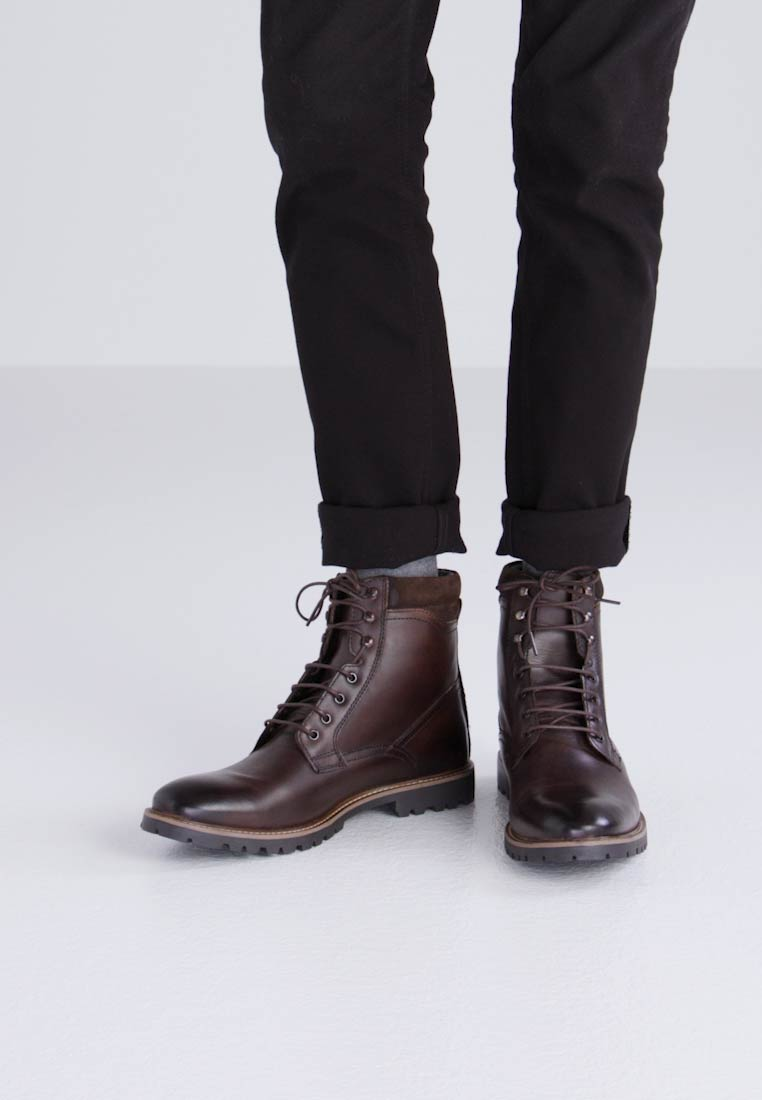 york boots. york - lace-up boots brown york