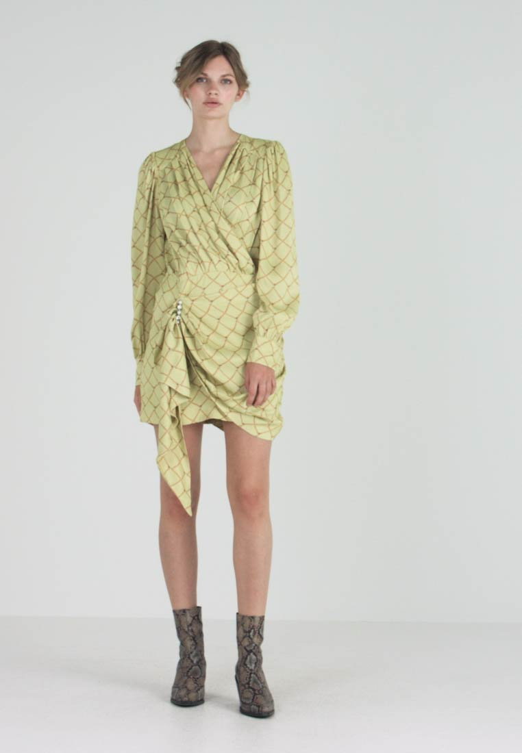 Birgitte Herskind - GEORGUS DRESS - Cocktailkjoler / festkjoler - pastel yellow