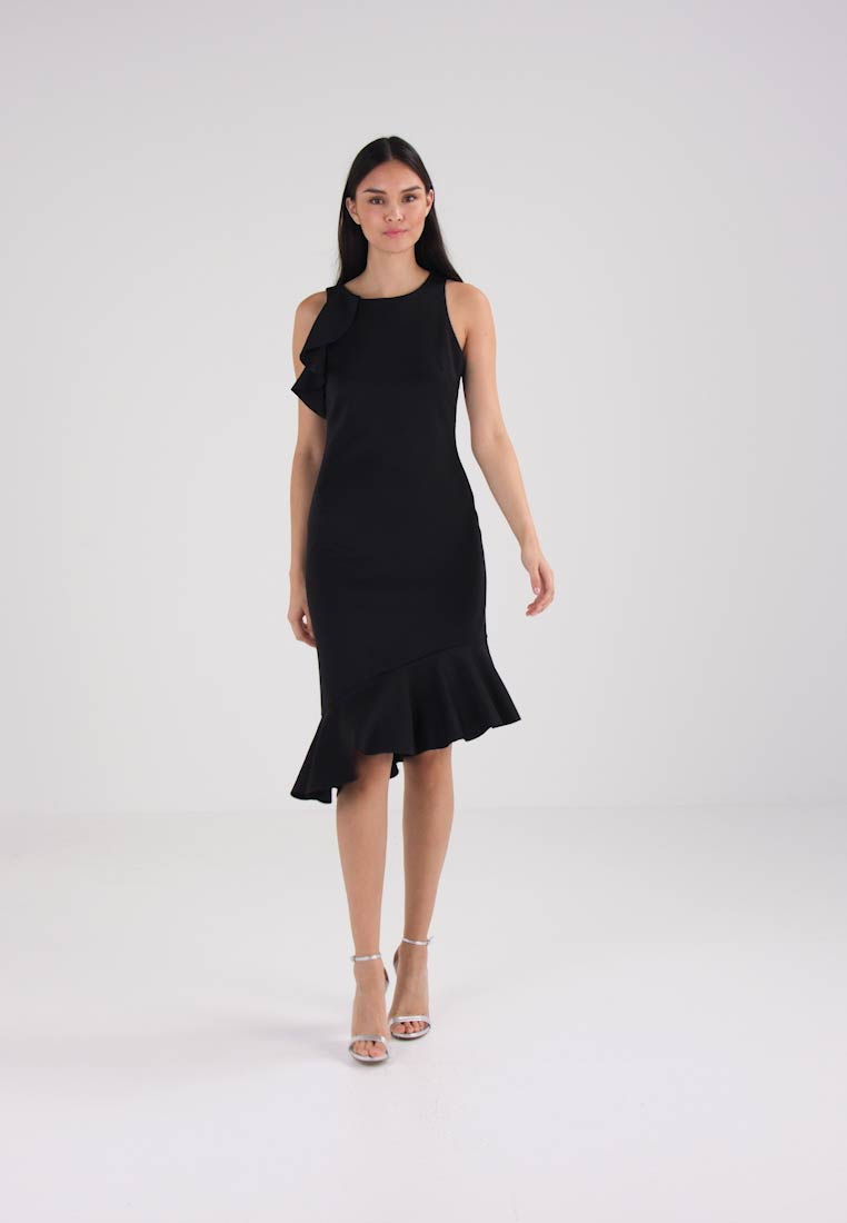 Banana Republic FLOUNCE - Robe dété - black