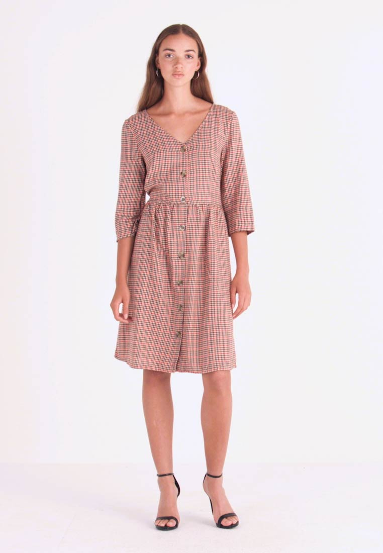 Blendshe - TAMMY - Shirt dress - orange