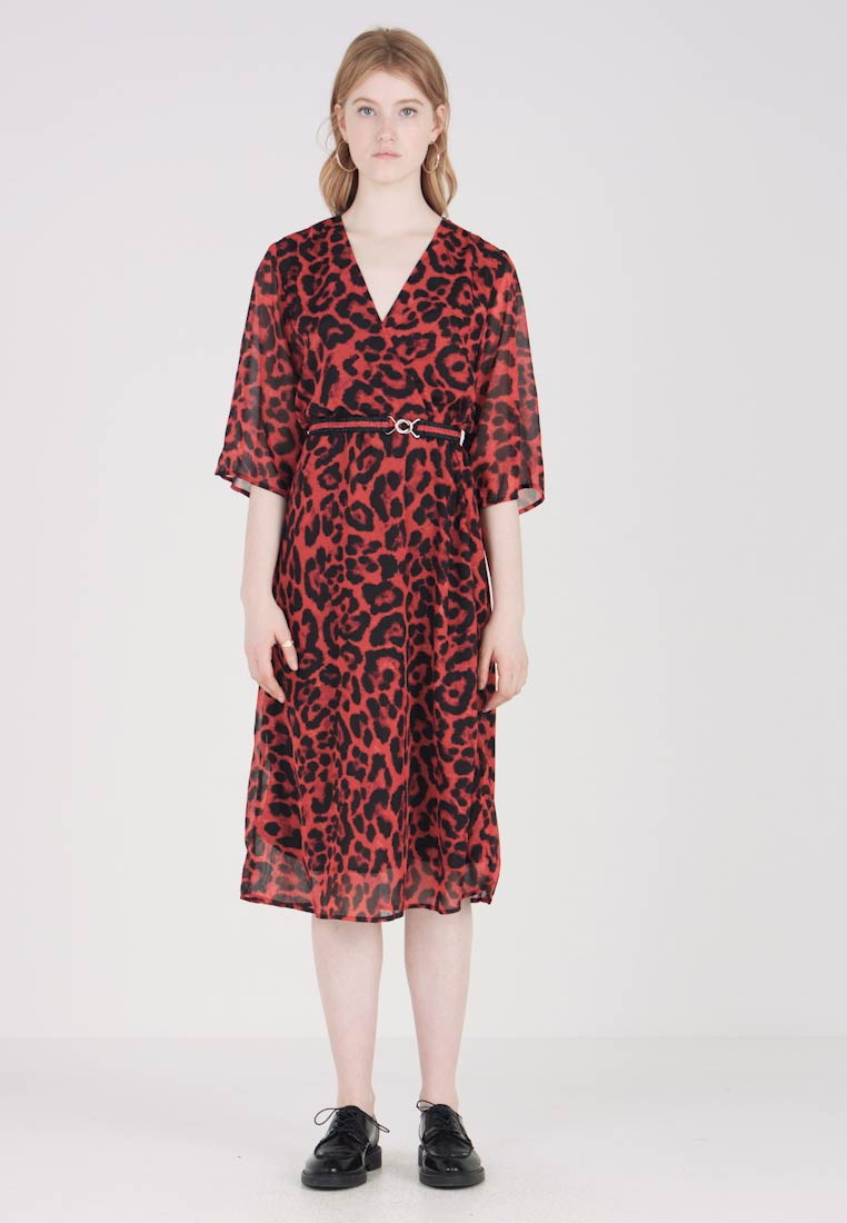 b.young - BXFRIA DRESS - Robe d'été - red