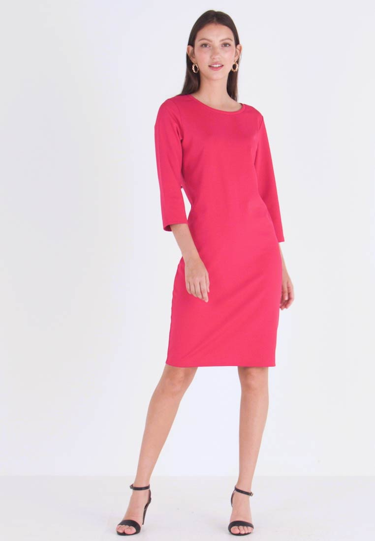 b.young - Jersey dress − red
