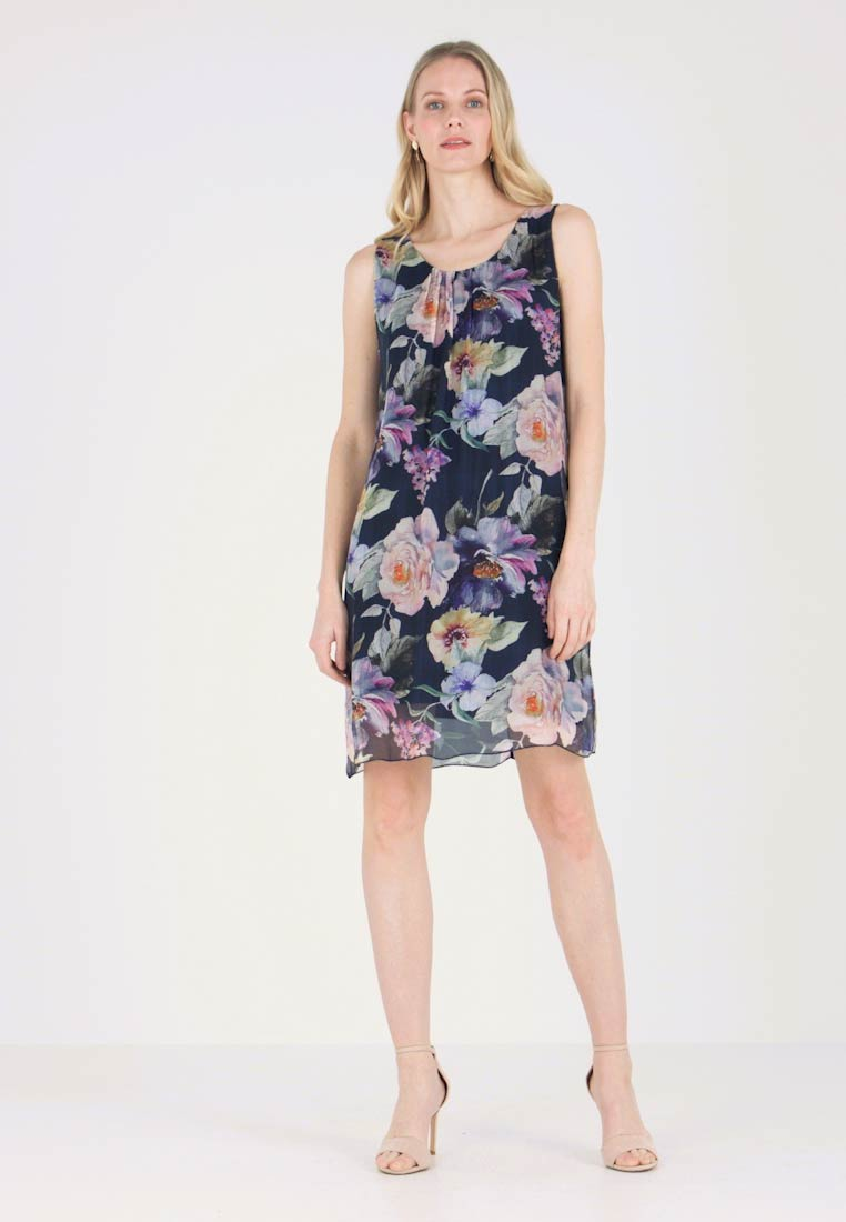 Cartoon - Vestito estivo - dark blue/rose