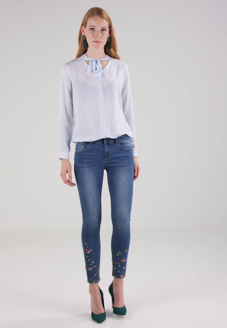 Cartoon - Jeans Skinny - middle blue