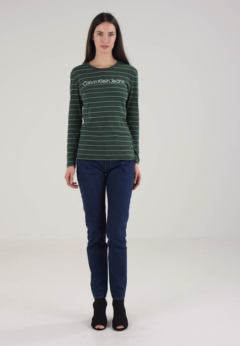 Calvin klein jeans tanyo t shirt manches longues - Tee shirt manche longue calvin klein ...
