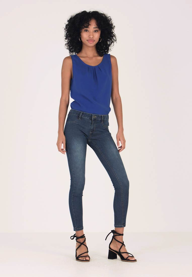 Cotton On - MID RISE - Jeans Skinny Fit - mid blue