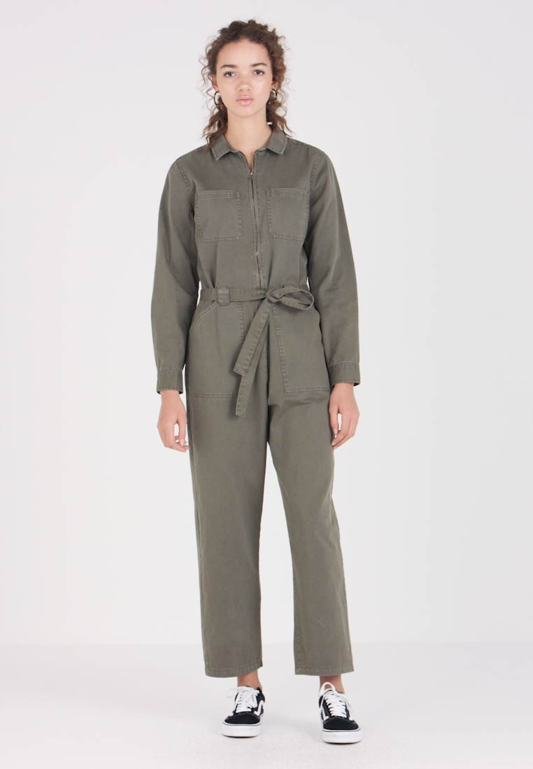 Cotton On - ANGIE PARACHUTE BOILER - Overall / Jumpsuit /Buksedragter - soft khaki