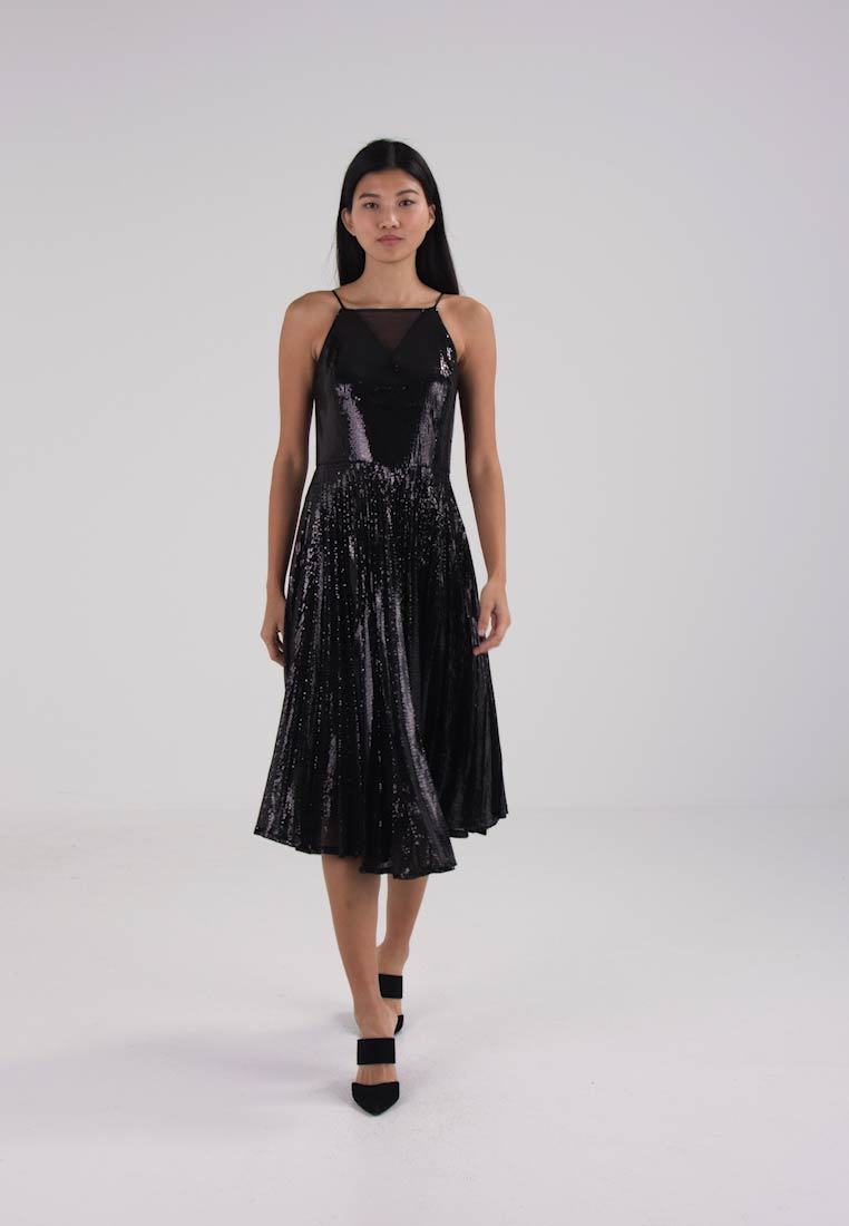 Coast VIVIANA PLEATED SEQUIN DRESS - Cocktail dress / Party dress ...